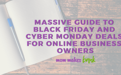 2018 Massive Guide to Black Friday and Cyber Monday Deals for Online Business Owners